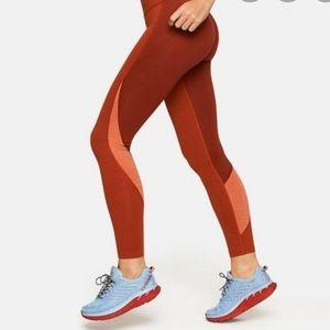 Outdoor voices 7/8 zoom orange leggings